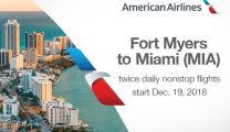 American Airline Miami to Ft. Myers