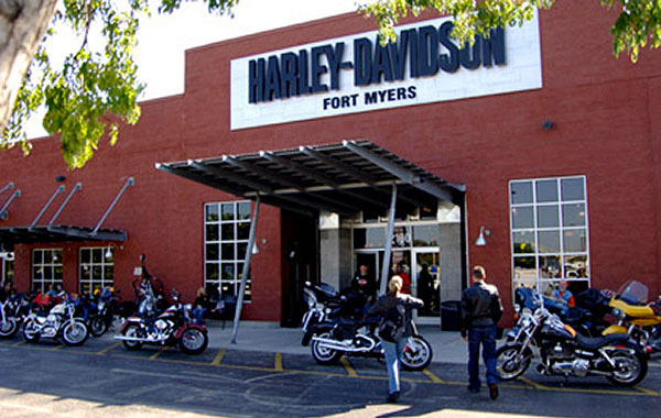 alte Harley Vertretung Fort Myers